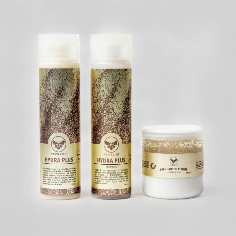 Kit Hydra Plus & Dual Hair Treatment