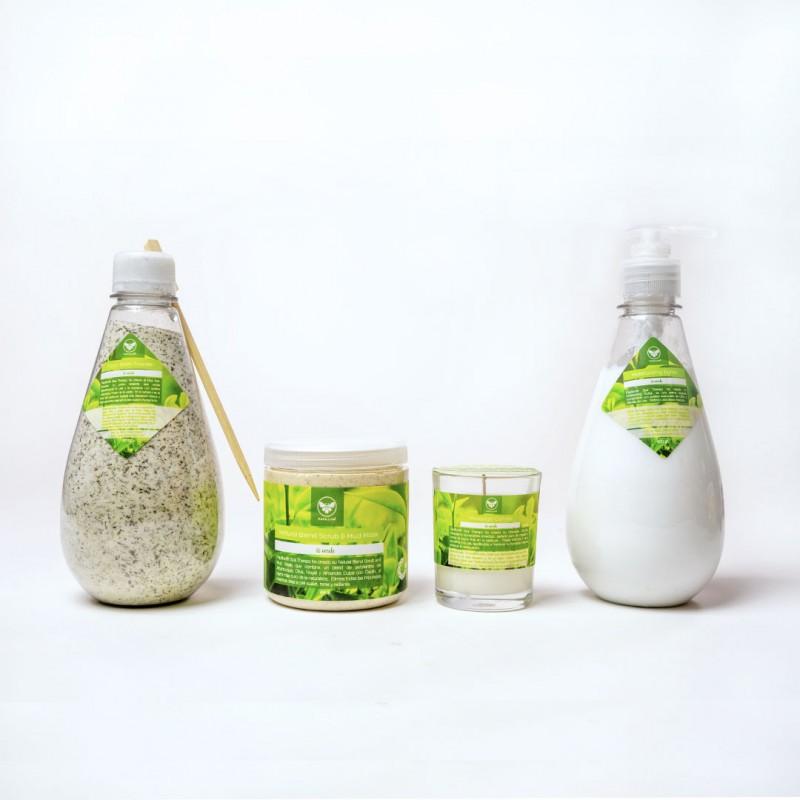 Balancing Green Tea Kit 4 Pasos